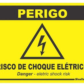 As placas de advertência aumentam a eficiência do SPDA