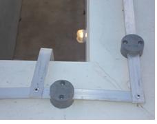 Barra chata de alumínio em SPDA. Fonte: Gelcam