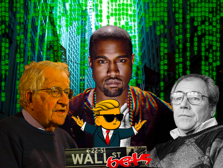 New Slaves, Noam Chomsky & Baudrillard's Hyperreality: The WallStreetBets Revolution