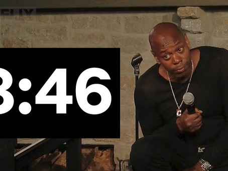 Dave Chappelle's 8:46, Art and Justified Insanity
