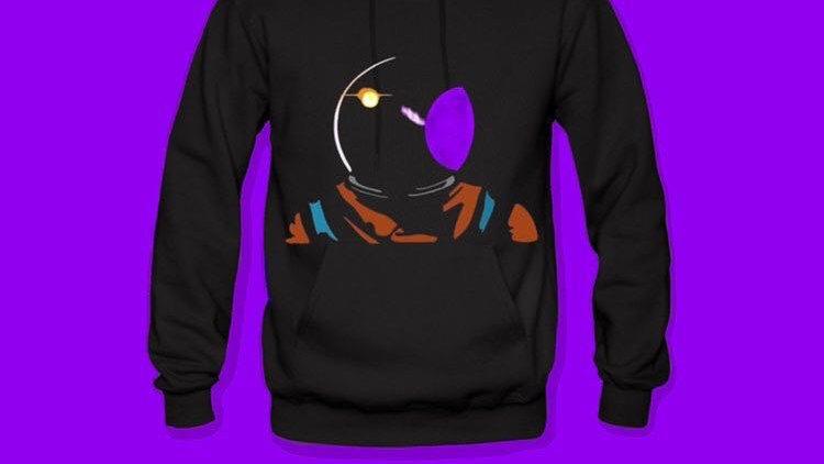 Awaken Apparel- Space Odyssey II Hoodie