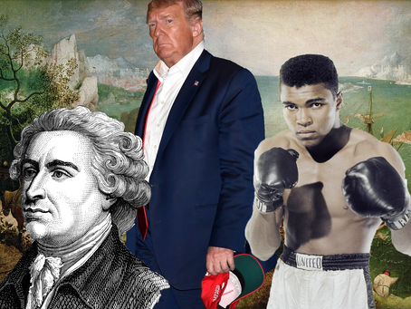 Edmund Burke, Donald Trump and Muhammad Ali: How To handle failure