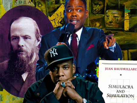 Chris Rock, Jay Z, Baudrillard & Dostoevsky: Crime & Punishment In Simulacra & Simulation
