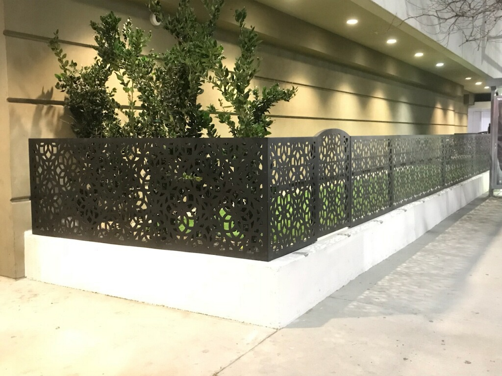 SRD Dog Run Custom Fence