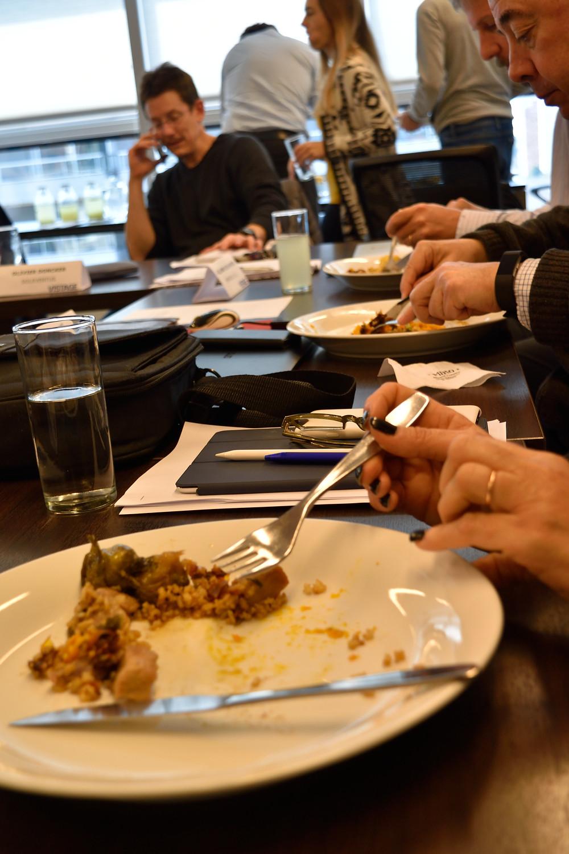 Almuerzos corporativos de la Olla