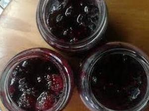 Confitura de frutos rojos