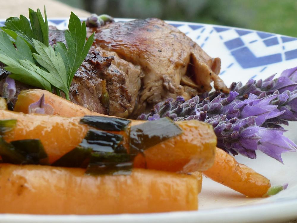 Ingredientes naturales hacen plato saludable