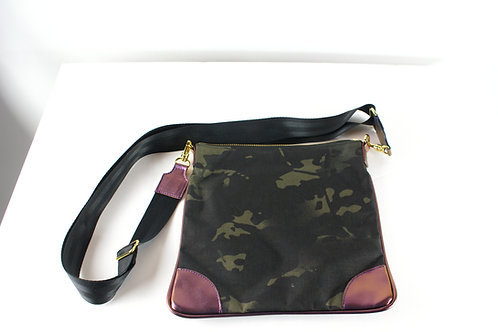 Tracker--Cross Body Black Camouflage