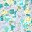 Thumbnail: Blue Floral on Grey