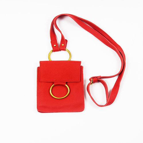 Concert Bag- Red Leather