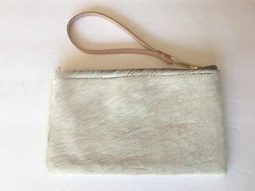 Wristlet Hair on Cowhide