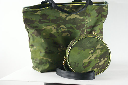 Tango Collection- Tote Green Camouflage