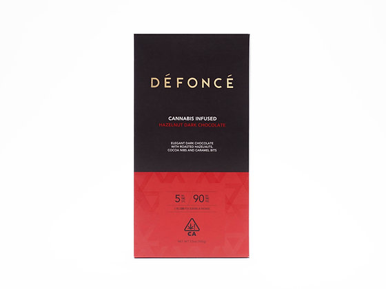 DEFONCE HAZELNUT DARK CHOCOLATE