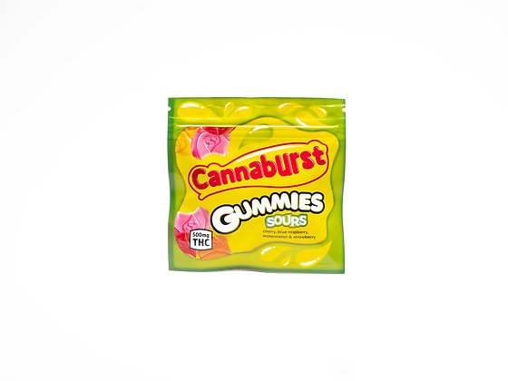 CANNABURST GUMMIES SOURS