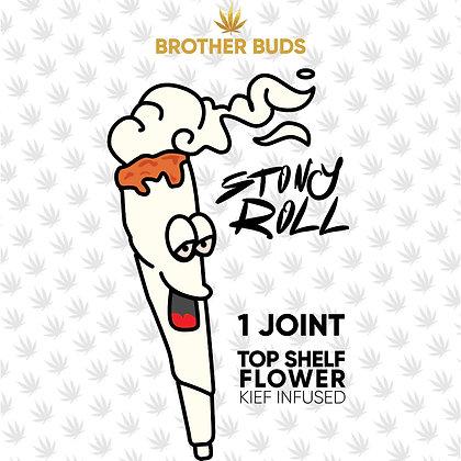BROTHER BUDS STONY ROLL 1.5g KIEF INFUSED