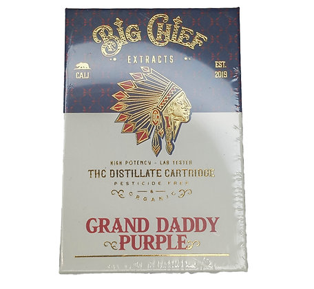 BIG CHIEF EXTRACTS - GRAND DADDY PURPLE