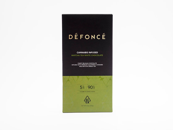 DEFONCE MATCHA TEA WHITE CHOCOLATE