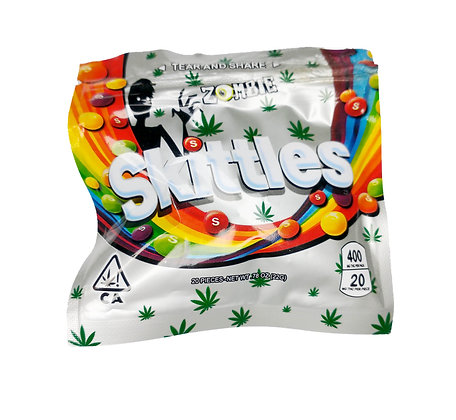 MEDICATED ZOMBIE SKITTLES 400MG