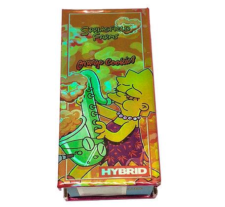 SPRINGFIELD FARMS ORANGE COOKIES - HYBRID 90%THC