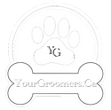 Your Groomers Logo BW
