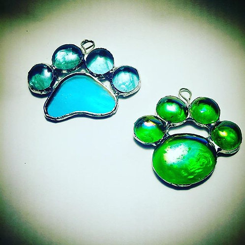 Stained Glass Paw