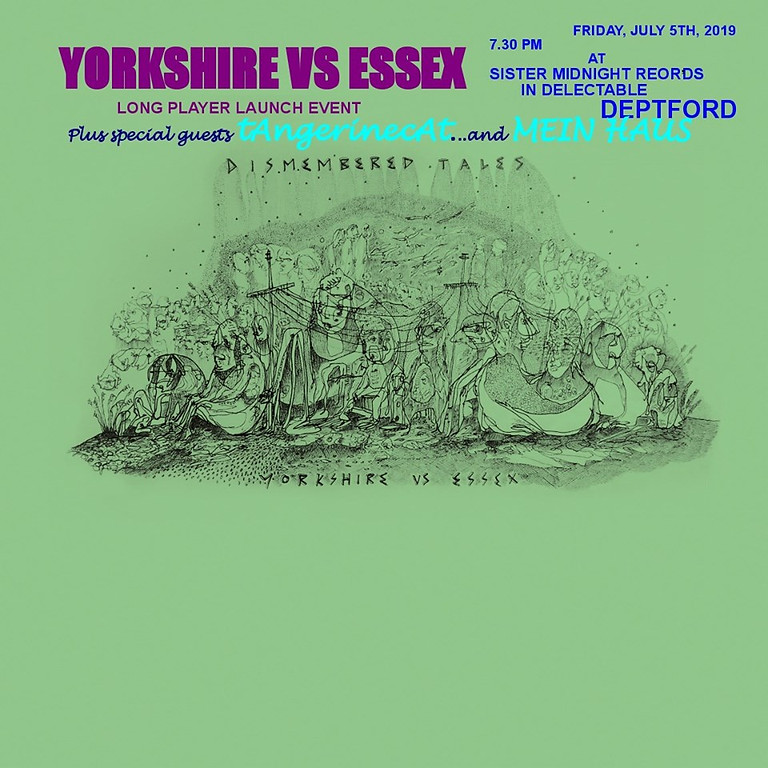 'Dismembered Tales' - Yorkshire Vs Essex's vinyl launch party