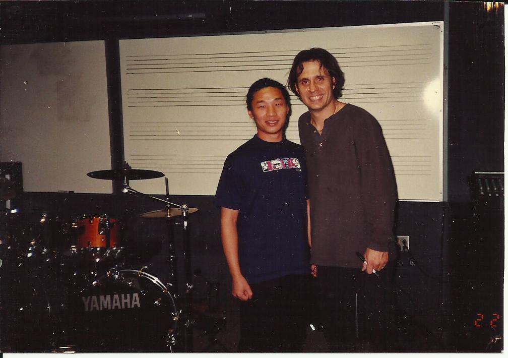 Lesson with Slayer_s Dave Lombardo in L.