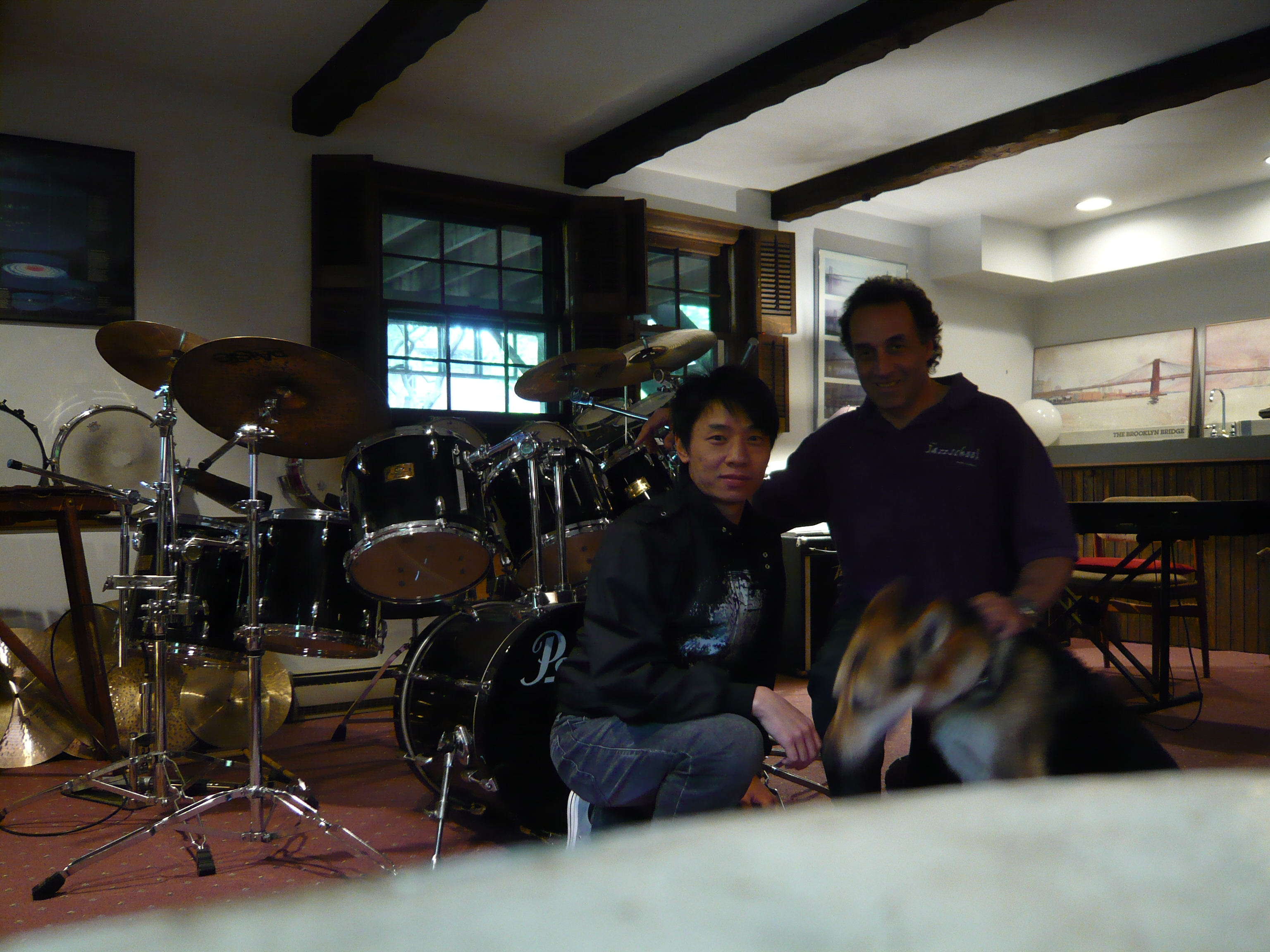 at Kim_s house in N.Y.