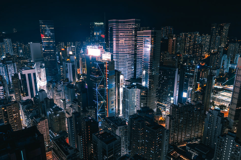 aerial-photography-of-cityscape-during-n