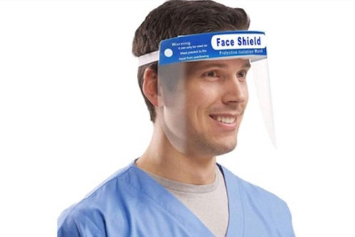 Reusable Face Shield (pack of 5)