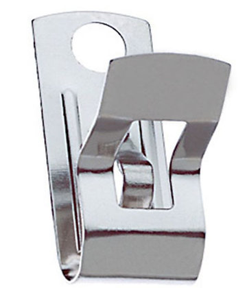 Fahnestock Clips, Package of 100
