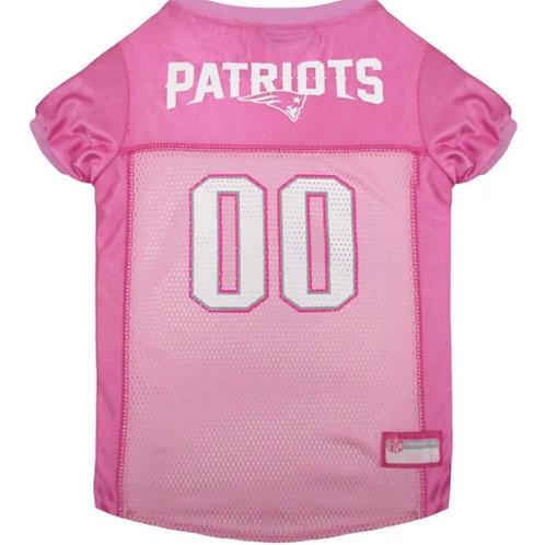NE Patriots Pink Jersey Sz. Small