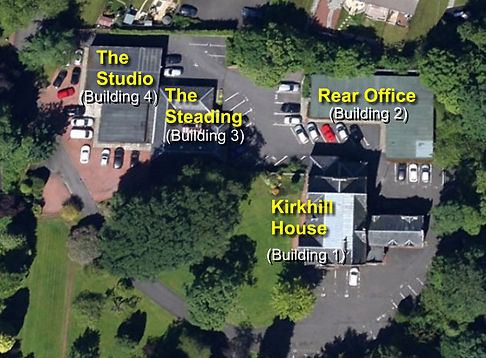 Kirkhill House Office Park - aerial view