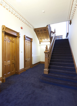 Ground floor hallway and stairs