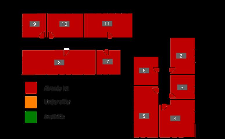 Kirkhill House Office Park - Rear Officel ayout
