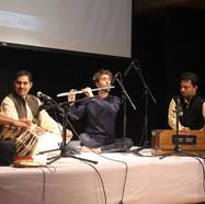 Concert à Delhi avec Sudanshu Sharma, chant Khayal, 2017