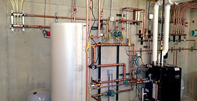Hot water cylinder installations