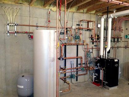 Under floor heating installation- UFH