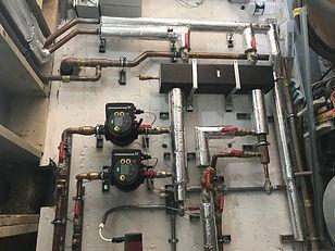 Heating, plant room installions