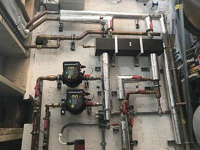 Pumps and heat exchangers