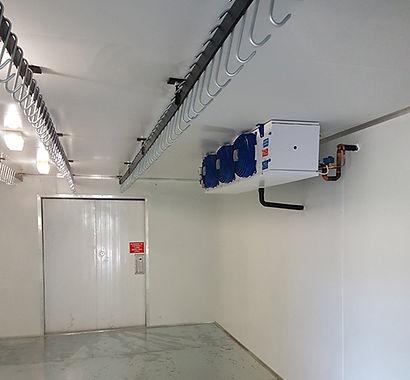 Walk in Freezer installation
