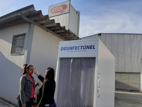 Unicamp aprova: Túnel com sistema de água ozonizada