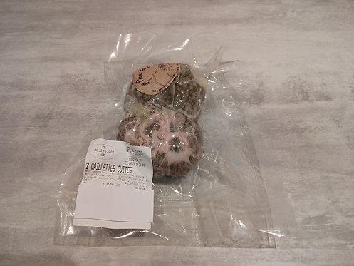 Deux caillettes cuites kg