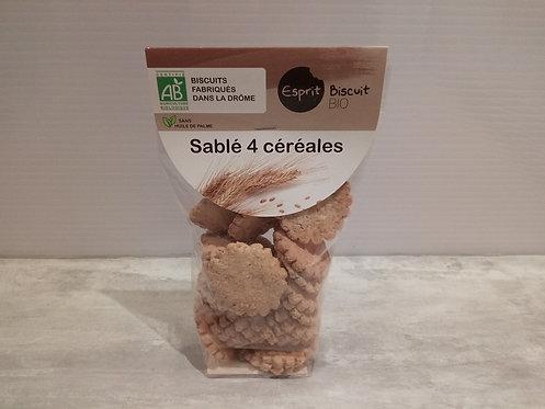Biscuits .. Sablé 4 céréales Bio 200g
