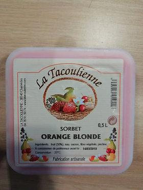 sorbet orange 500 ml