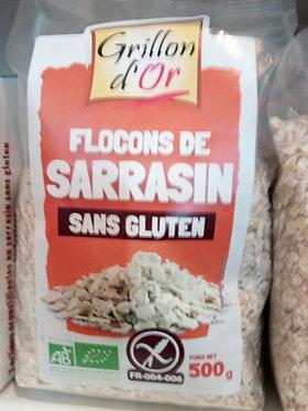 flocons de sarrasin 500 g bio
