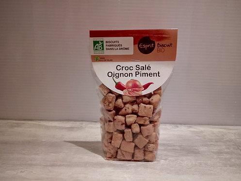 Biscuits Salés Oignon piment Bio 200g