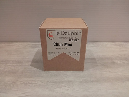 Thé vert 20 Infusion Chun Mee Bio 40g