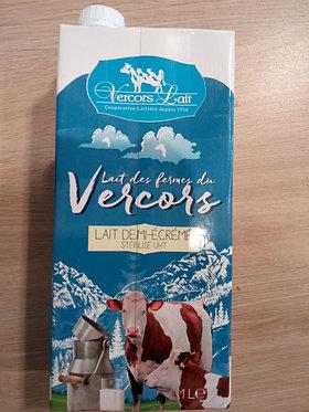 lait du Vercors stérilisé uht 1 l