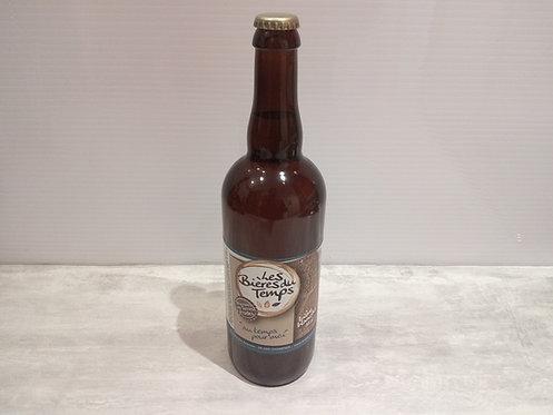 Bière du temps blanche 75 cl